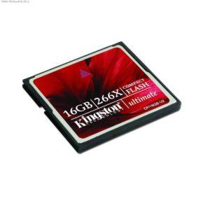 CompactFlash 16 Gb Kingston Ultimate 266x
