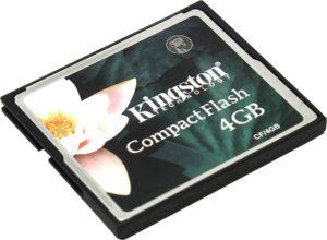 CompactFlash 4 Gb Kingston