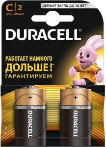 DURACELL LR14  (2 blister)