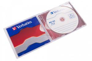 VERBATIM 2-х  25GB  bd-re