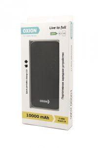 OXION OPB-1011BK 10000mAh 2USB 1A-2A black
