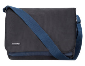 Boombag Messenger 10.2 black-blue