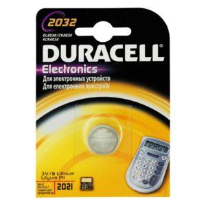DURACELL CR 2032 (1 blister)