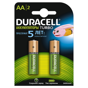 DURACELL HR 6-2BL (2400mAh)