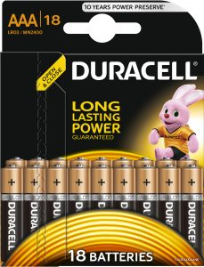 DURACELL LR 3  (18 blister)