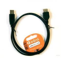 Intro USB2.0 удлиннитель 1.0м