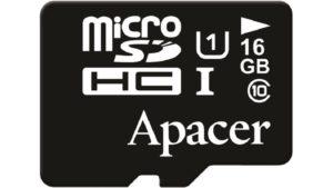 MicroSD 16 Gb Apacer HC 10 Сlass 45 10MBs