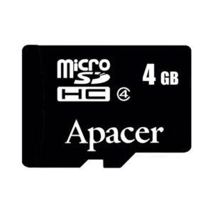 MicroSD 4 Gb Apacer HC 4 Class  (без адаптера)