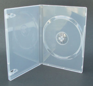 DVD 14мм на 1 диск прозрачный