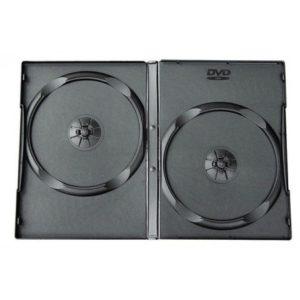 DVD 9 мм на 2  диска