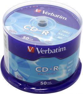 VERBATIM 52-х (уп. 50шт.) под печать