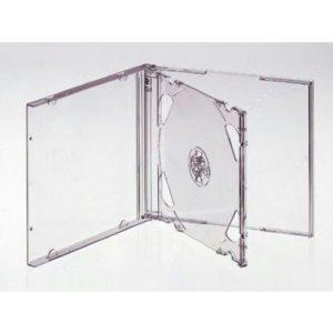 box CD прозрачный на 2 диска