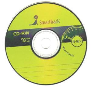 cd-rw SMARTTRACK 12-х (уп. 100шт.)