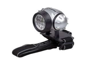 Фонарь светодиодный налобный Smartbuy SBF-HL006-K, 21 LED, черный