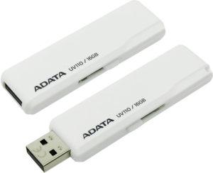 A-Data 16 Gb UV110 white