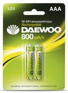 DAEWOO R03 NI-MH (800 mAh)