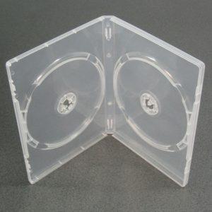 DVD 14мм на 2 диск (прозрач.)