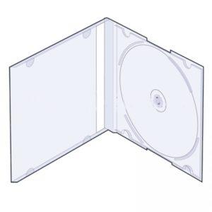 SLIM прозрачный под 1 диск