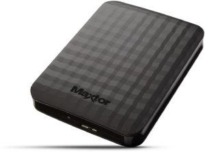 SEAGATE 1 Tb Maxtor M3 Portable black