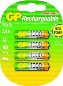 GP HR 3  1000mA (4blister)