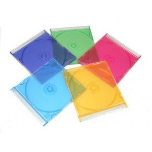 SLIM цветной под 1 диск